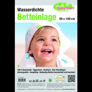 Image of odenwälder Betteinlage wasserdicht weiß