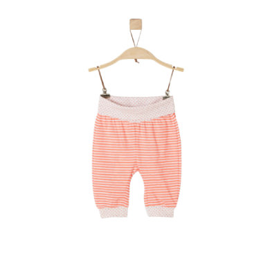 s.Oliver Girls Sweathose orange stripes Gr.Newborn (0 6 Monate) Mädchen