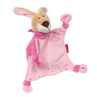 sigikid ® Schnuffeltuch Hase Tanze im Regen ros...