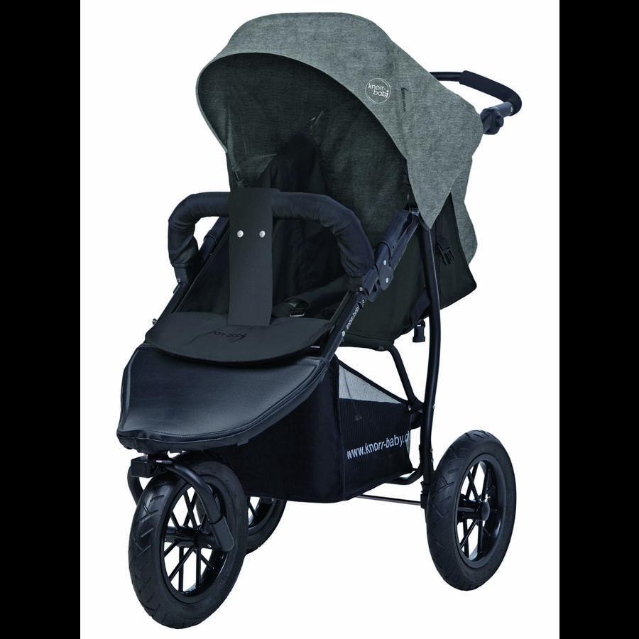 knorr-baby Sportwagen Joggy S Melange hellgrau