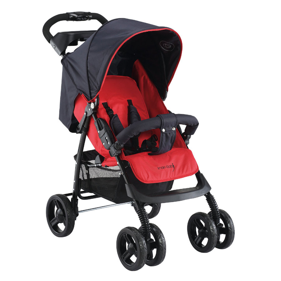 knorr-baby Sportwagen V-Easy-Fold Happy Colour rot