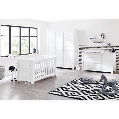 Babyzimmer - Pinolino Kinderzimmer Milk extrabreit 6 türig weiß  - Onlineshop Babymarkt