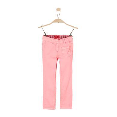 Minigirlhosen - s.Oliver Girls Hose neon pink regular - Onlineshop Babymarkt