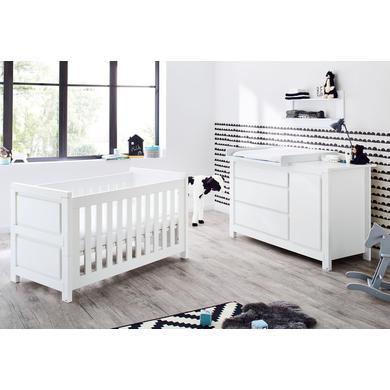Babyzimmer - Pinolino Sparset Milk extrabreit weiß  - Onlineshop Babymarkt