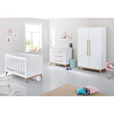 Pinolino dětský pokojíček Eiva dvoudveřový - bílá