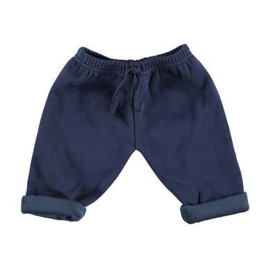 Babyhosen - LITTLE Sweathose Sweat Flausch navy - Onlineshop Babymarkt