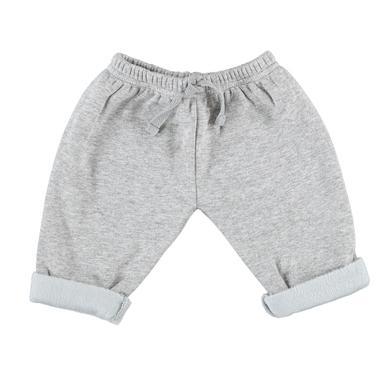 Babyhosen - LITTLE Sweat Flausch grau - Onlineshop Babymarkt