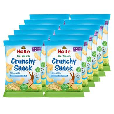 Holle Bio Crunchy Snack Hirse 12 x 25 g