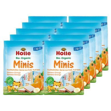 Holle Bio Minis Banane-Orange 10 x 100 g