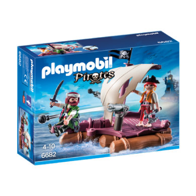 Playmobil ® Pirates Pirátský vor 6682