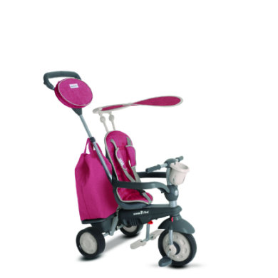 smarTrike ® 4-in-1 Dreirad Voyage, pink