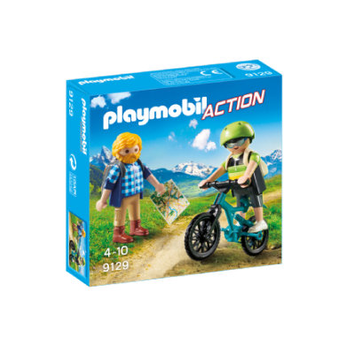 PLAYMOBIL® Action Wandelaar en mountainbiker 9129