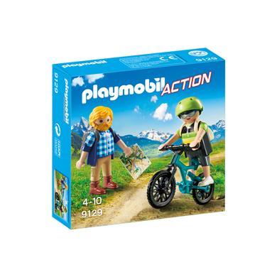PLAYMOBIL® Action Wandelaar en mountainbiker 9129