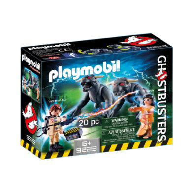 Playmobil ® Ghostbusters™ Venkman a psi 9223