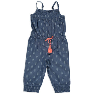 Staccato Girls Jumpsuit blue denim aop blau Gr.116 122 Mädchen