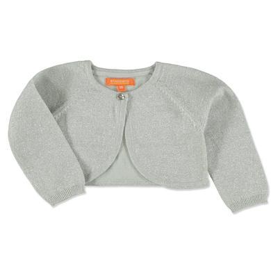 Babytaufbekleidung - Staccato Girls Strickbolero silver – grau – Gr.Babymode (6 – 24 Monate) – Mädchen - Onlineshop Babymarkt