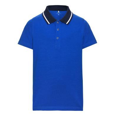 name it  Boys Poloshirt Vartinfun nautical blue - blau - Gr.92 - Jungen