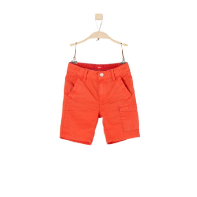 Miniboyhosen - s.Oliver Boys Bermuda red - Onlineshop Babymarkt