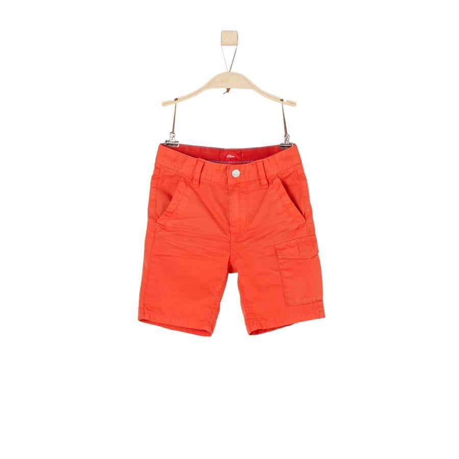 s.Oliver Boys Bermuda red