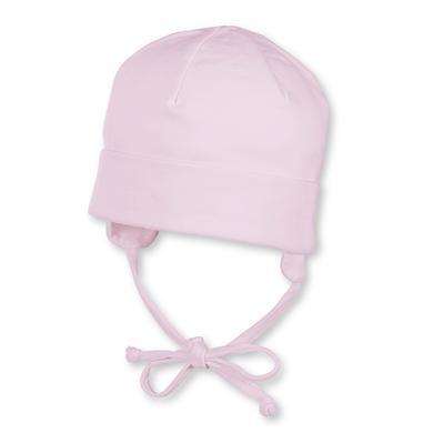 Sterntaler Girl s Beanie Jersey roze