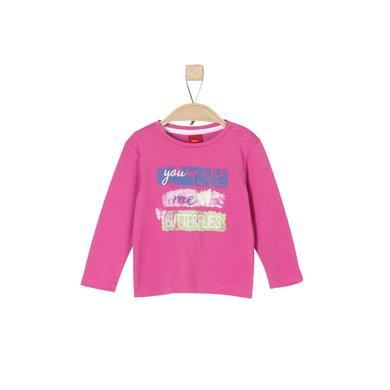 s.Oliver Girls Longsleeve pink rosa pink Gr.Babymode (6 24 Monate) Mädchen