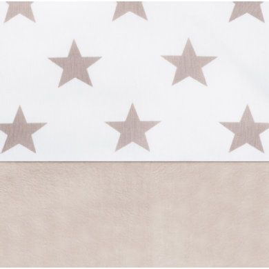 jollein Sheet Little star sand 120x150cm