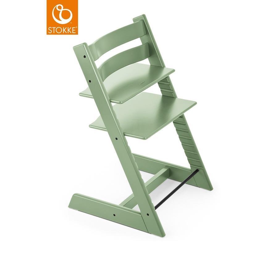 Hochstühle - STOKKE® Tripp Trapp® Hochstuhl Buche Moss Green  - Onlineshop Babymarkt