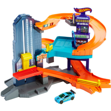 Hot Wheels Speedtropolis Spielset