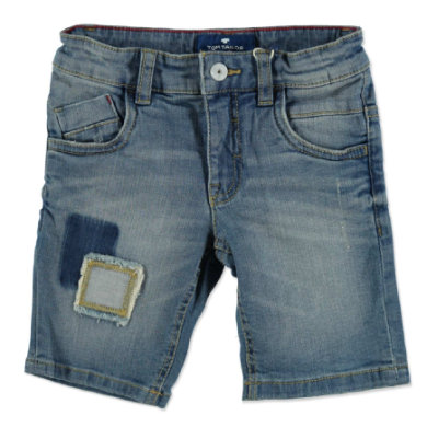 Miniboyhosen - TOM TAILOR Boys Bermuda blue denim - Onlineshop Babymarkt