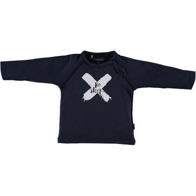 b.e.s.s Langarmshirt No Sleep - blau - Gr.Newborn (0 - 6 Monate) - Jungen