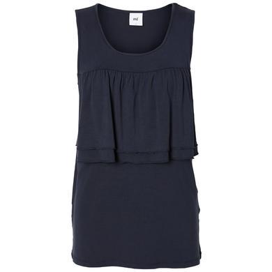 Schwangerschaftsmode für Frauen - mama licious Umstands Tank Top MLIFI navy blazer blau Damen  - Onlineshop Babymarkt
