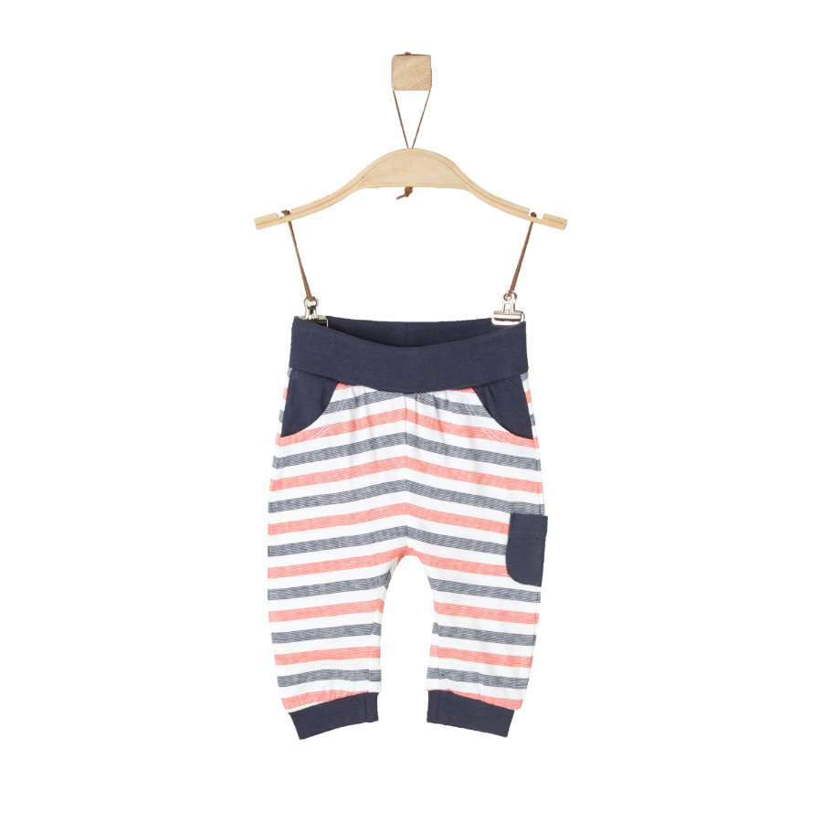 s.Oliver Boys Hose white stripes