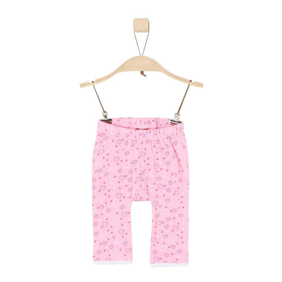 s.Oliver Girls Leggings light pink aop