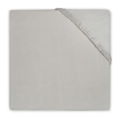 Kindertextilien - jollein Spannlaken Jersey sand 60x120cm beige Gr.60x120 cm  - Onlineshop Babymarkt