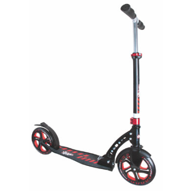 Authentic Sports Aluminium Scooter No Rules 230 mm und 215 mm schwarz