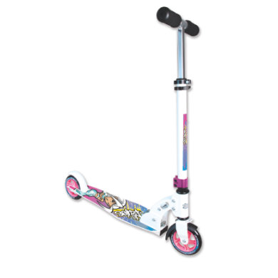 Authentic Sports Aluminium Scooter No Rules 125 mm, Little Sister Jill bunt
