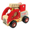 Bino Cuerpo de bomberos auto de madera