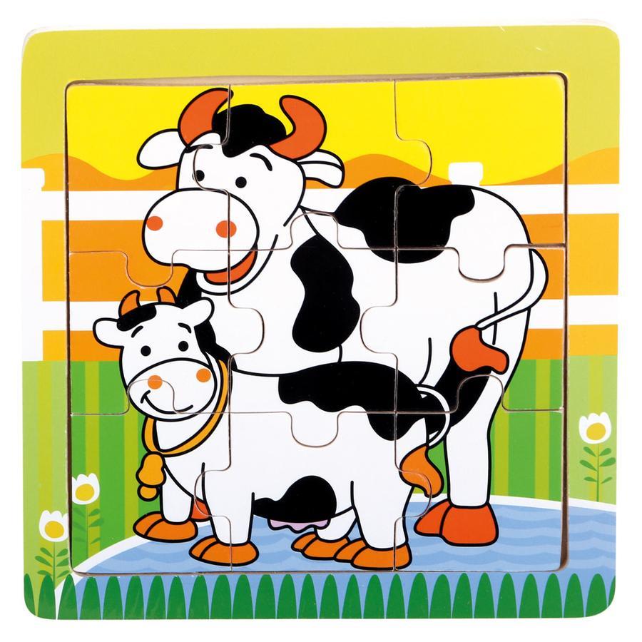 Bino Puzzle Vaches, bois