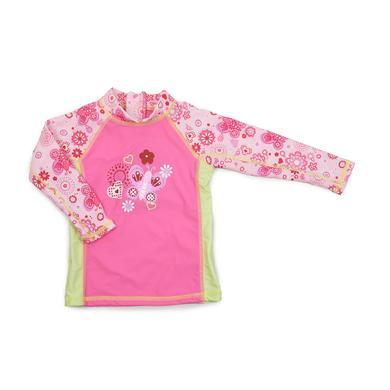 Dimo Bade Shirt UV Schutz pink bunt Gr.Babymode (6 24 Monate) Mädchen