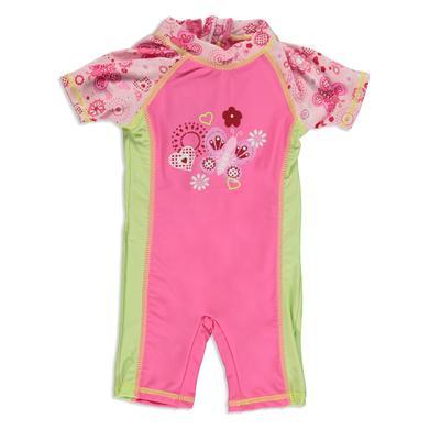 Dimo UV Schutz Badeanzug pink bunt Gr.Babymode (6 24 Monate) Mädchen