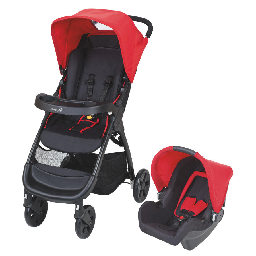 Safety 1st Buggy Amble TS Plain Red