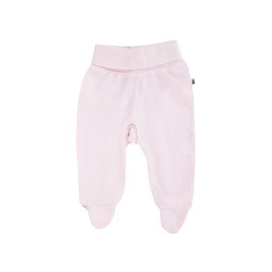 Jacky Stramplerhose BASIC LINE beige rosa pink Gr.Newborn (0 6 Monate) Mädchen