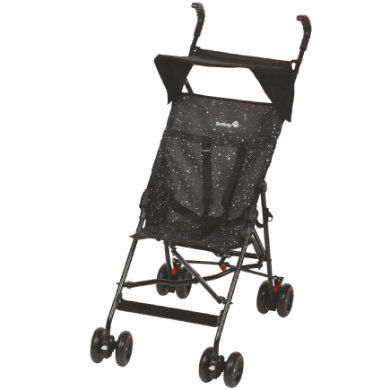 Safety 1st Buggy Peps mit Sonnenverdeck Splatter Black