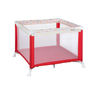 Safety 1st Laufstall Circus Red Lines - rot