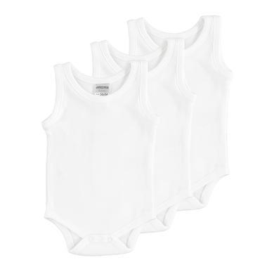 Babywaesche - JACKY Body Achselform 3er Pack weiß - Onlineshop Babymarkt