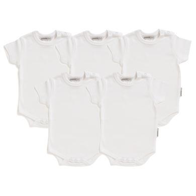 Babywaesche - JACKY Body 1 4 Arm 5er Pack weiß - Onlineshop Babymarkt