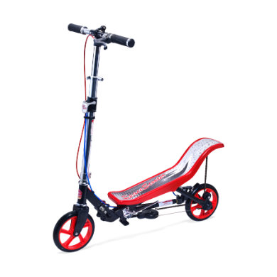Space Scooter® Deluxe X 590 Rot Schwarz rot