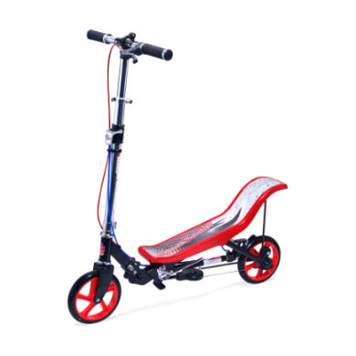 Space Scooter ® Deluxe X 590 Rot Schwarz rot