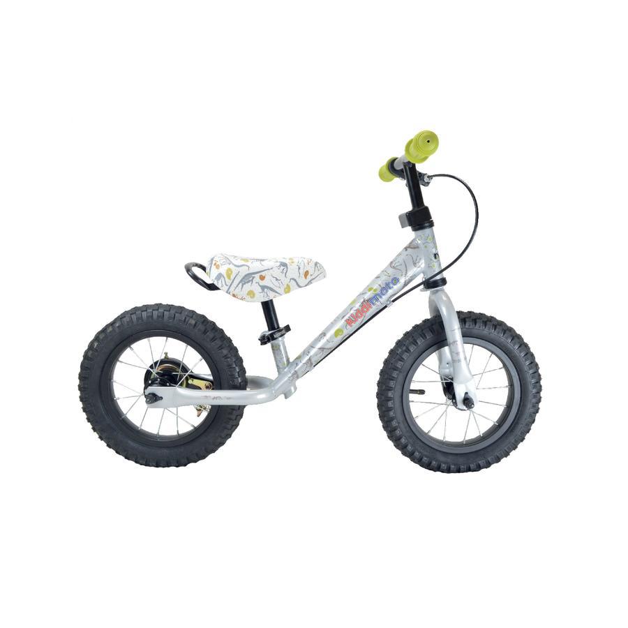 kiddimoto® Metall Laufrad mit Bremse Fossil