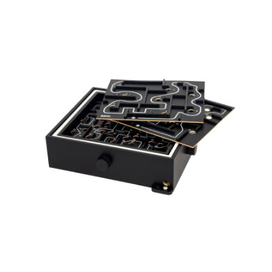 Brio ® svart labyrint med øvingsplater 34040